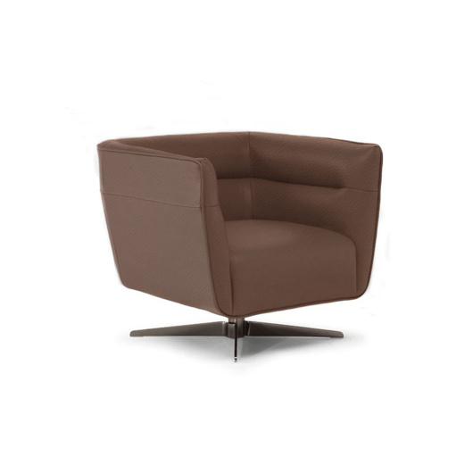 Image de SPIRITOSA Swivel Chair - Brown