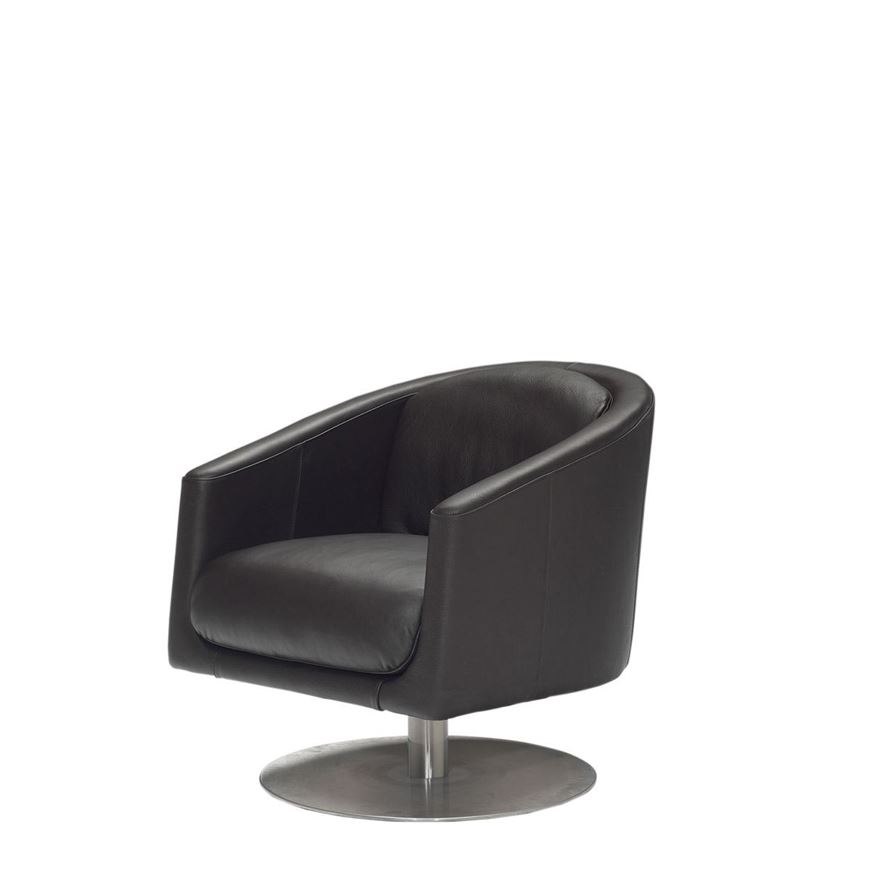 Image sur LIU Swivel Arm Chair