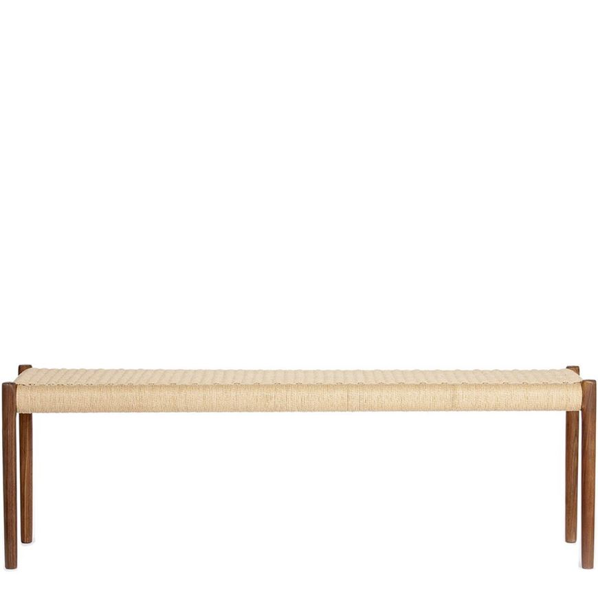 图片 J.L. Mollers 63A Walnut Bench