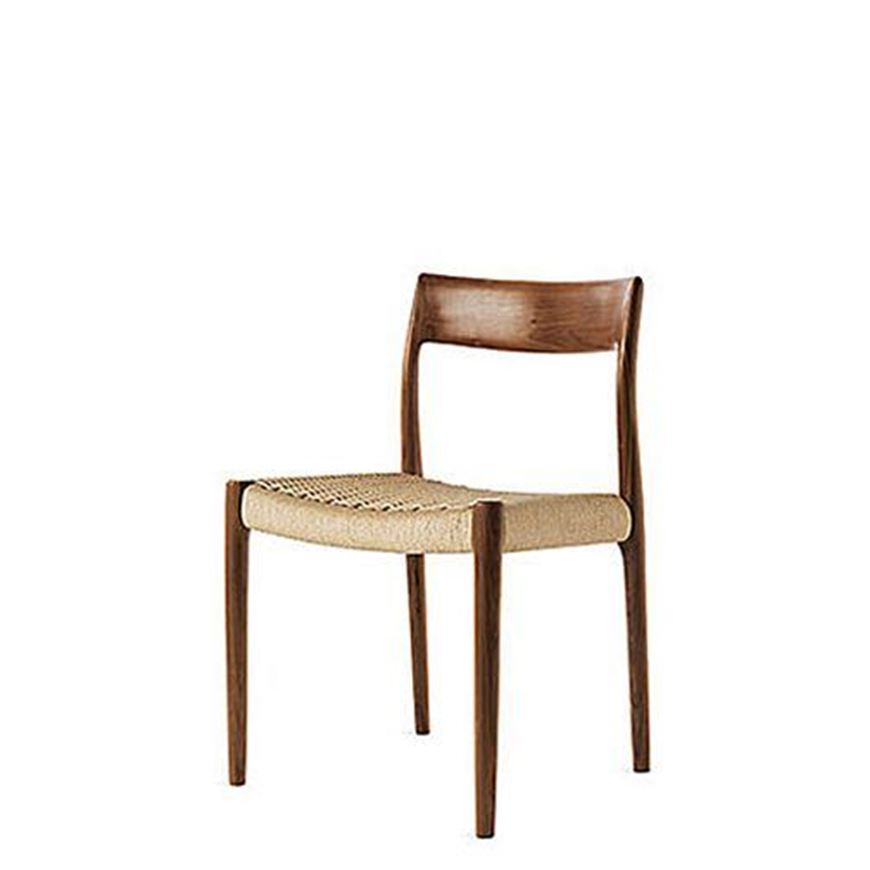 图片 J.L. Mollers 77 Walnut Dining Chair