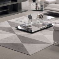 trendy rug in modern room