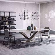 ceramic dining table modern room
