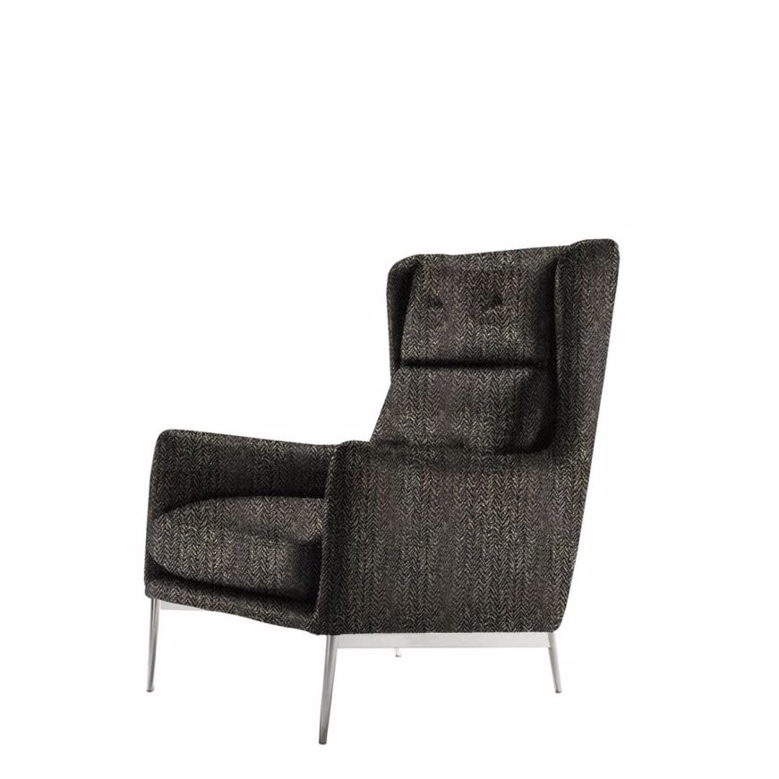 Image sur AFTEREIGHT High Back Arm Chair