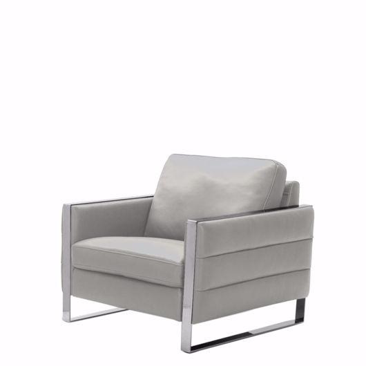 sleek arm chair
