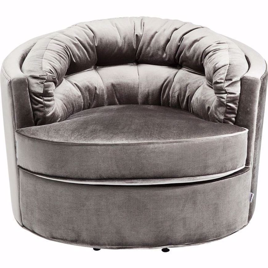 图片 Music Hall Swivel Chair - Grey