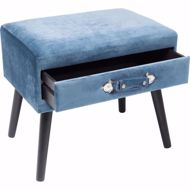 Picture of Drawer Foot Stool - Blue