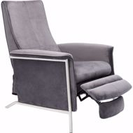 Image sur Relax Chair - Grey Velvet