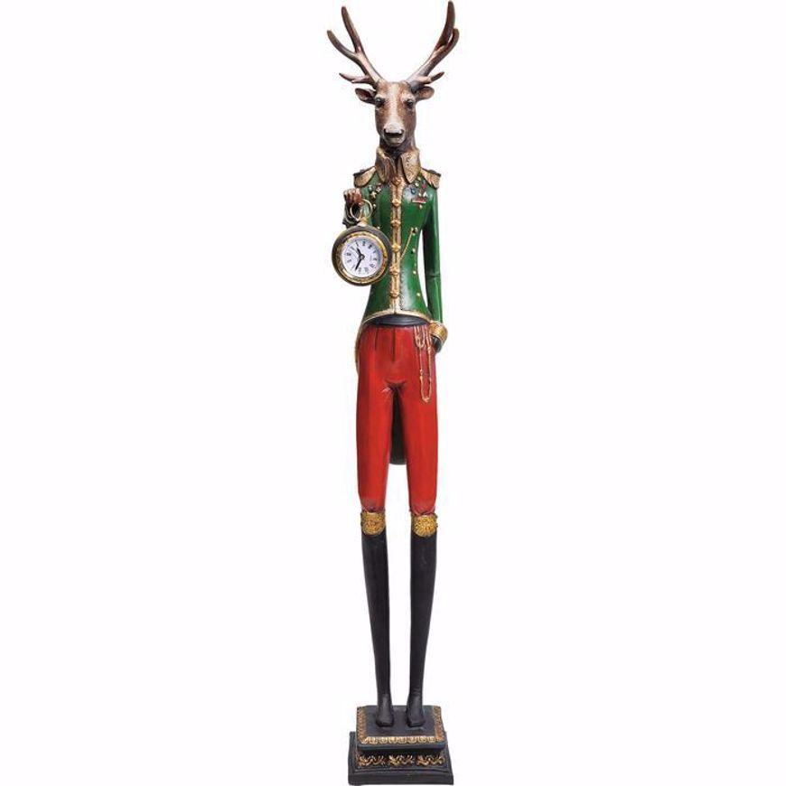 图片 Gentleman Deer Table Clock