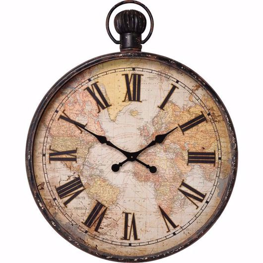 Picture of European Map Wall Clock