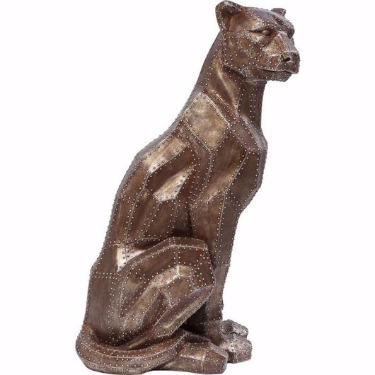 Picture of Sitting Cat - Copper Rivet