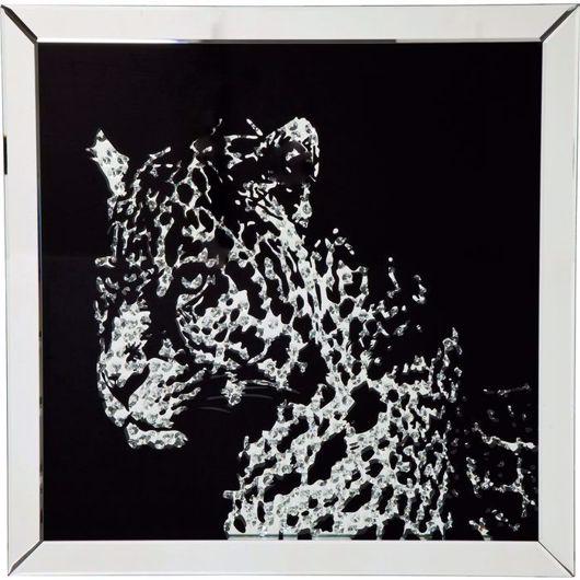 Image de Leopard Mirror Picture Frame