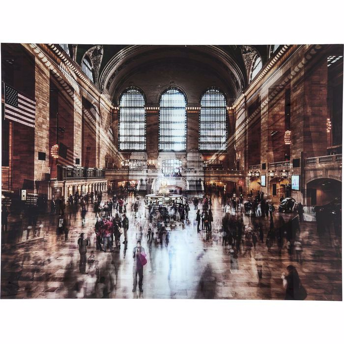 Picture of Grand Central Station Glass