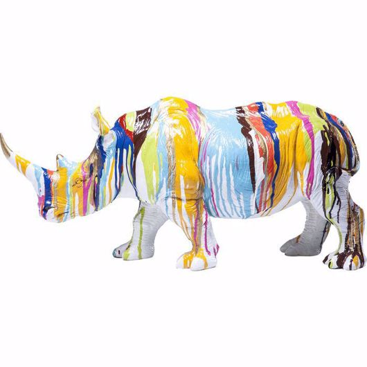 Picture of Rhino Colore Figurine