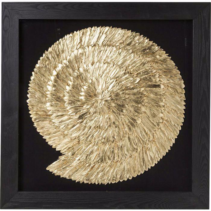 图片 Golden Snail Wall Art