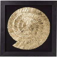 Picture of Golden Snail Wall Art