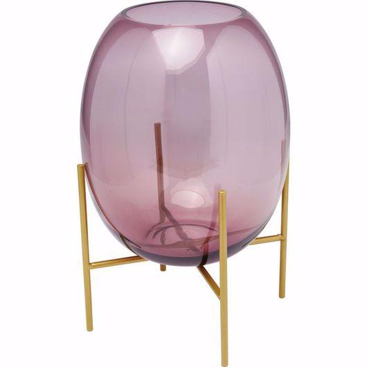 Image de Stilt Vase - Purple