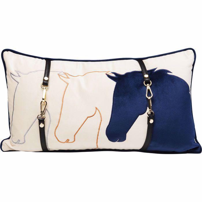 图片 Horsefaces Cushion