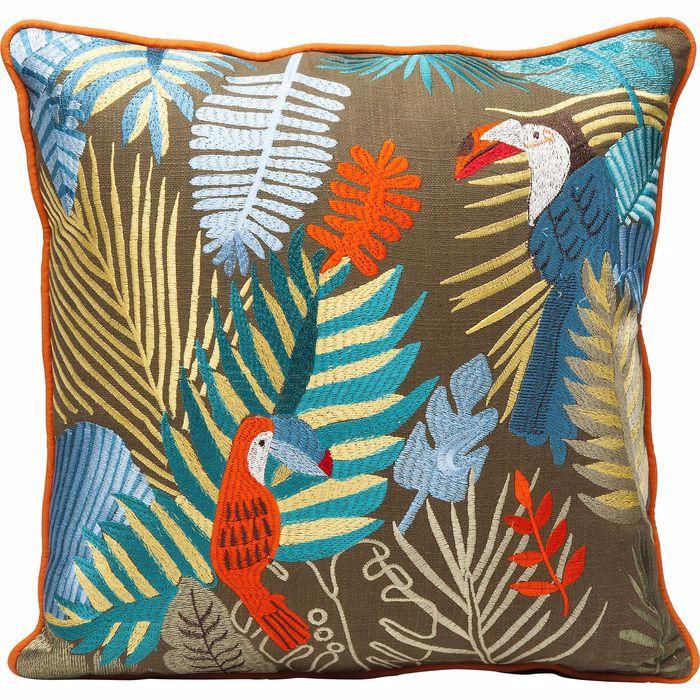 图片 Exotic Parrots Cushion