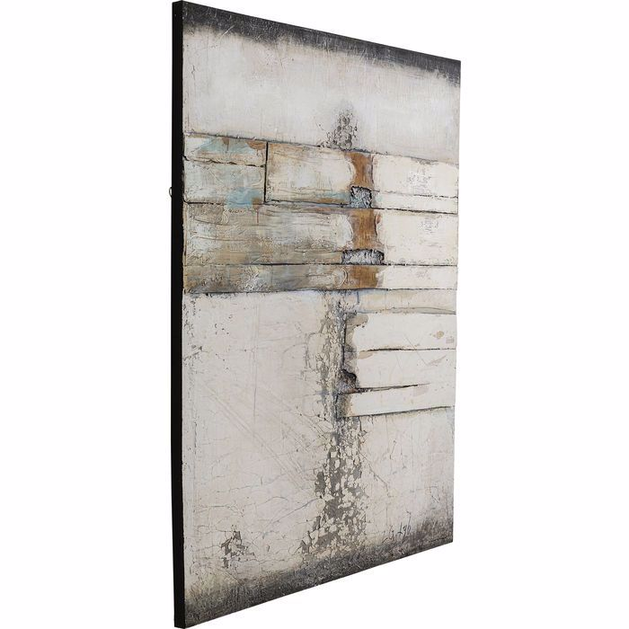 Image sur Abstract Grey Line Two Painting