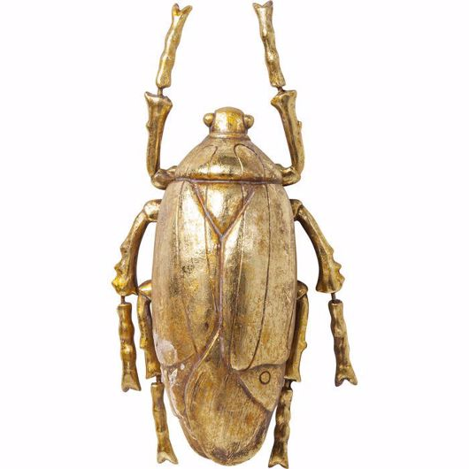 图片 Plant Beetle Wall Decoration - Gold