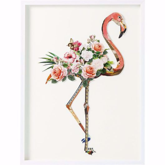Image de Flamingo Framed Art