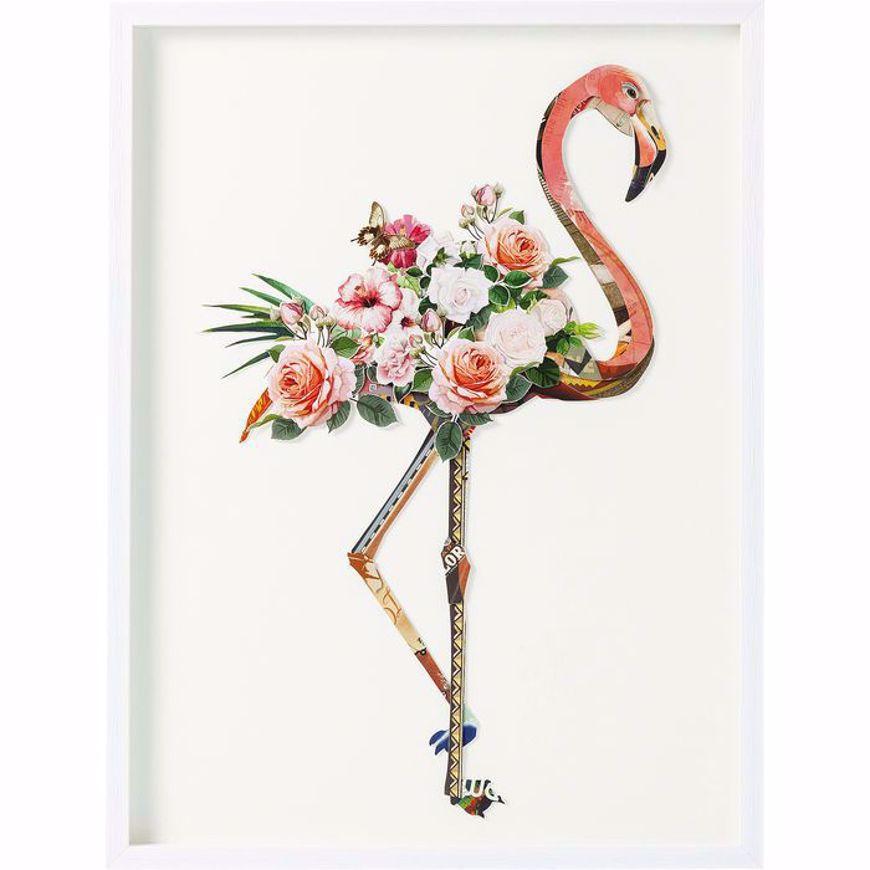 图片 Flamingo Framed Art
