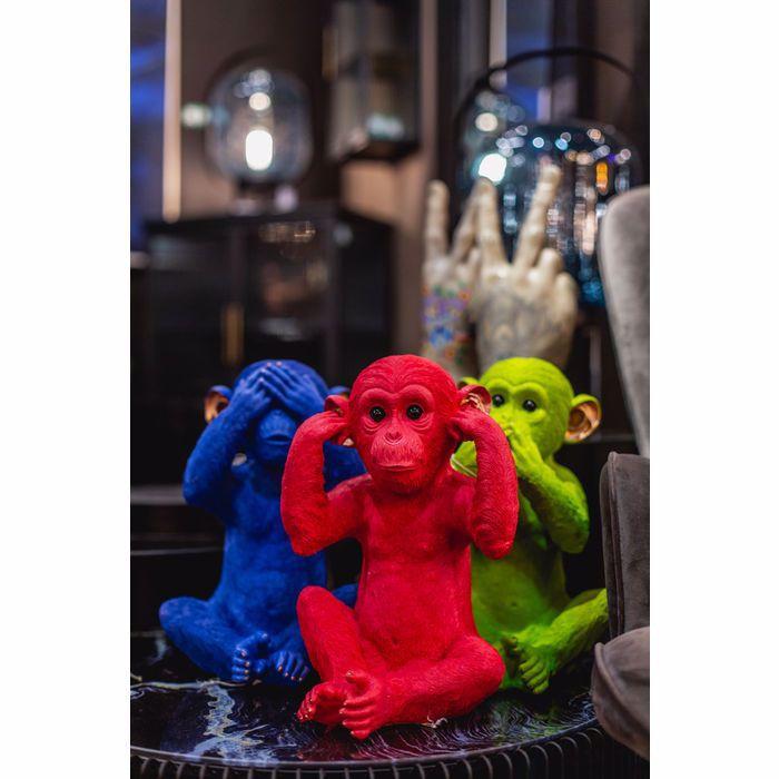 Picture of Mizaru Monkey Money Box - Blue