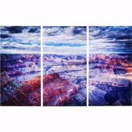 Image sur Grand Canyon Glass Triptychon