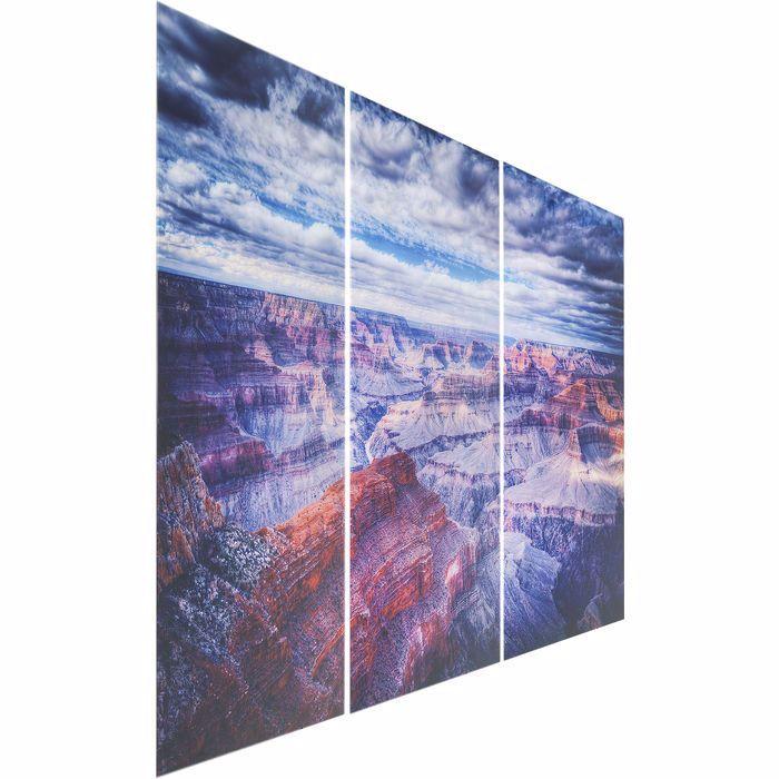 Image sur Grand Canyon Glass Triptychon