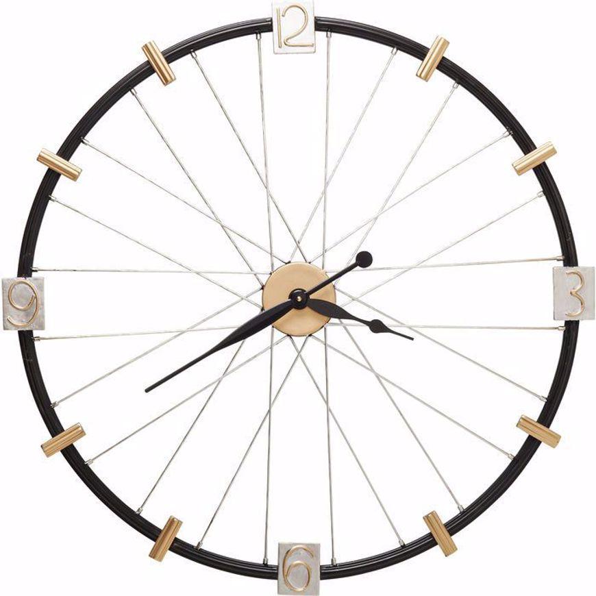 Picture of Spoke Wheel Wall Clock
