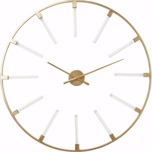 图片 Visible Sticks Wall Clock