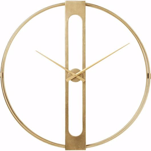 图片 Clip Gold Wall Clock