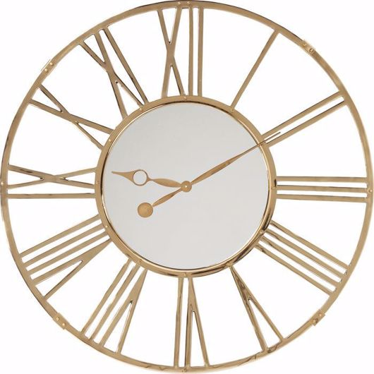 图片 Giant Gold Wall Clock