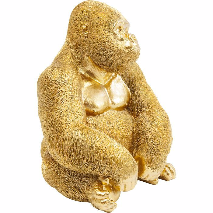 图片 Gold Gorilla Side - Medium