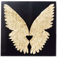 Picture of Wings Wall Decoration - Black