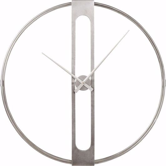 Picture of Clip Silver Wall Clock