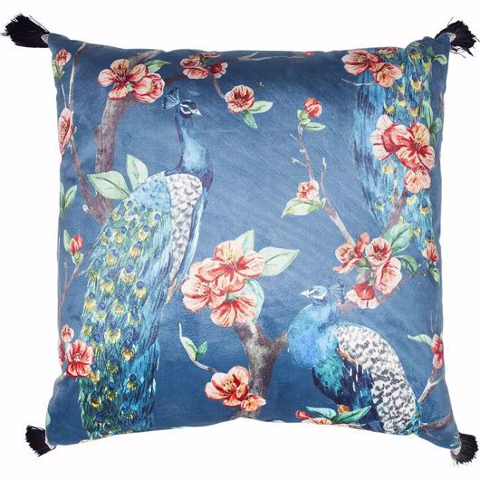 图片 Paradise Peacock Cushion