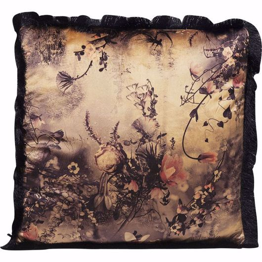 图片 Romantic Garden Fringe Cushion