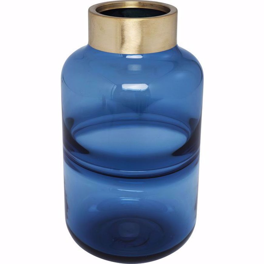 Image sur Positano 28 Belly Vase - Blue