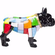 Picture of Bulldog Colore Figurine