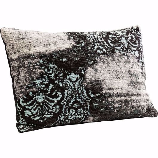 图片 Kelim Ornament Cushion - Turquoise