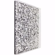 Image sur Silver Flower Wall Art