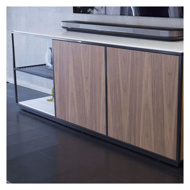 图片 FIL ROUGE Sideboard - Walnut