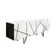 图片 STRIPES Sideboard - White