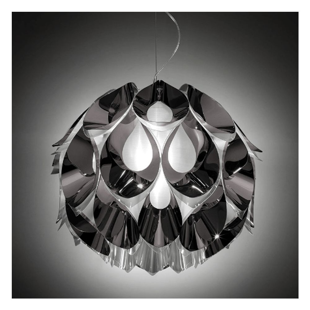 图片 FLORA Medium Suspension Lamp - Pewter
