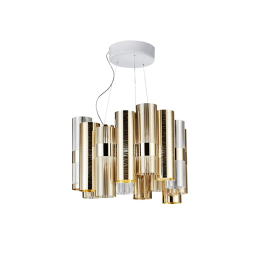 图片 La Lollo Suspension Lamp - Gold