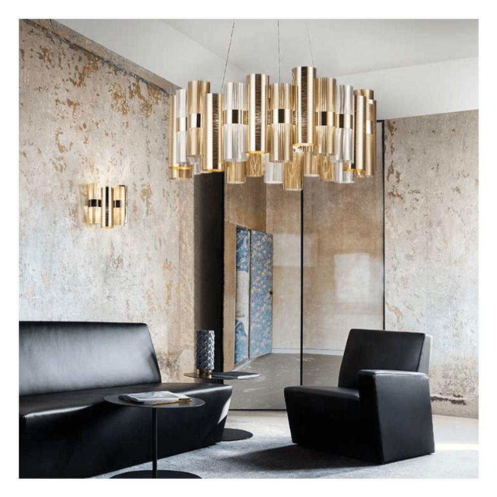 图片 La Lollo Suspension Lamp - Gold
