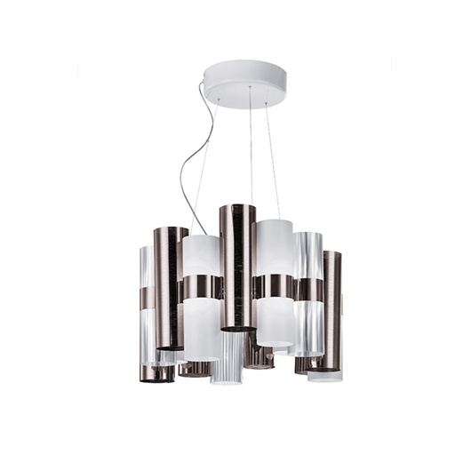 图片 La Lollo Suspension Lamp - Pewter