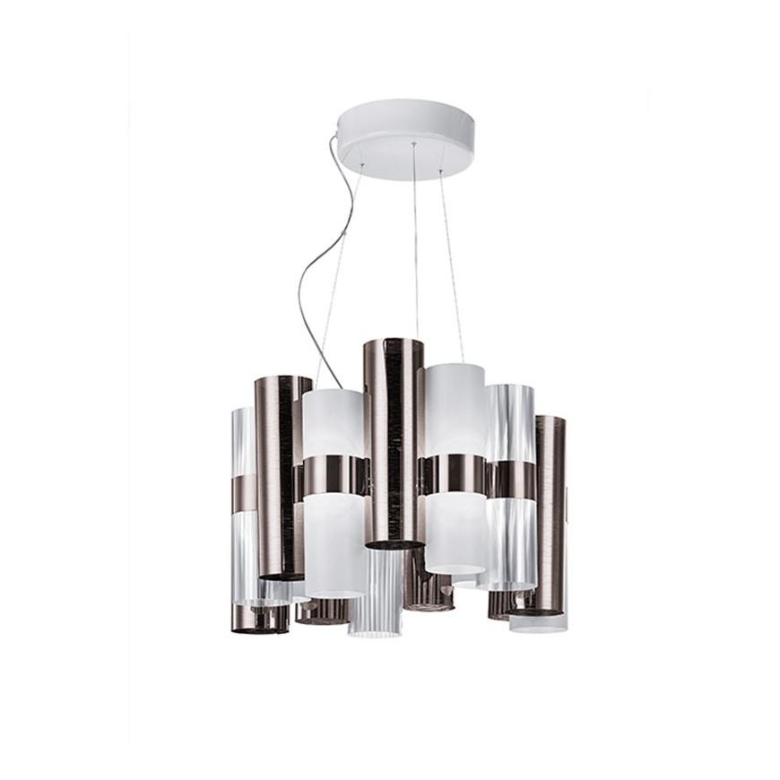 Image sur La Lollo Suspension Lamp - Pewter