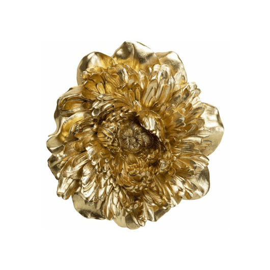 Picture of Peony Wall Decoration - Gold